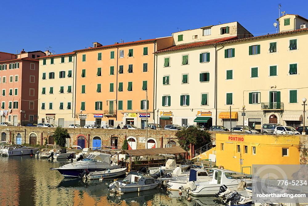 Canal, Livorno, Tuscany, Italy, Europe