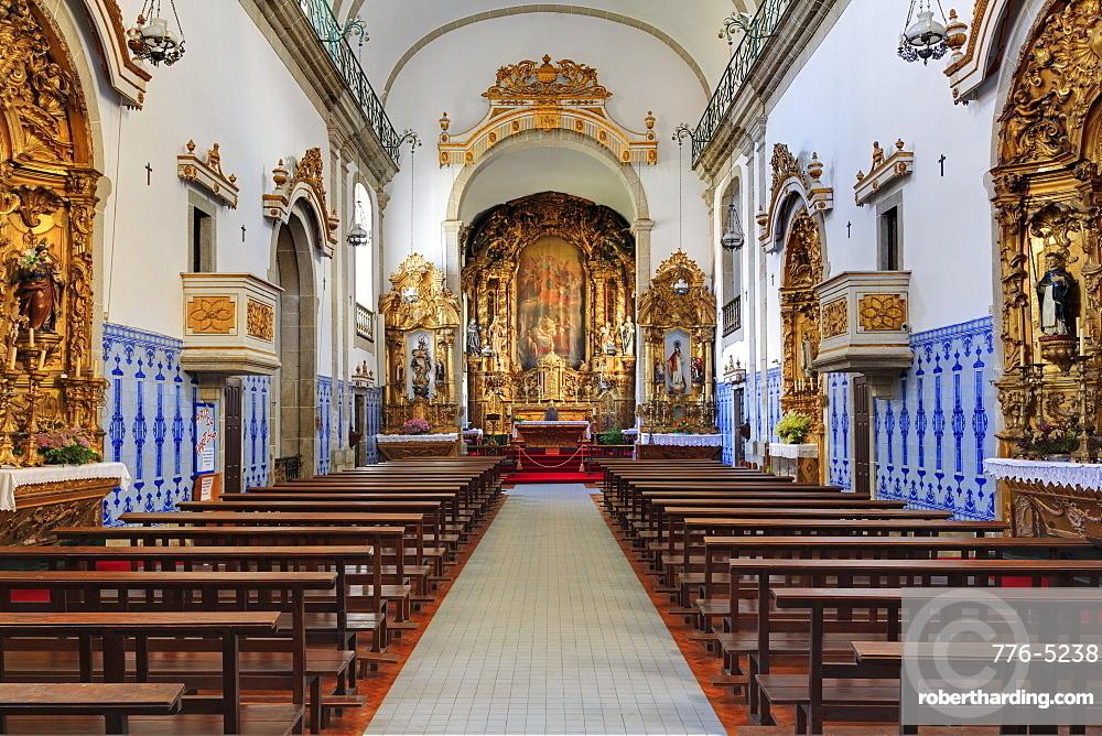 Santa Marinha Church, Gaia District, Porto City, Portugal, Europe