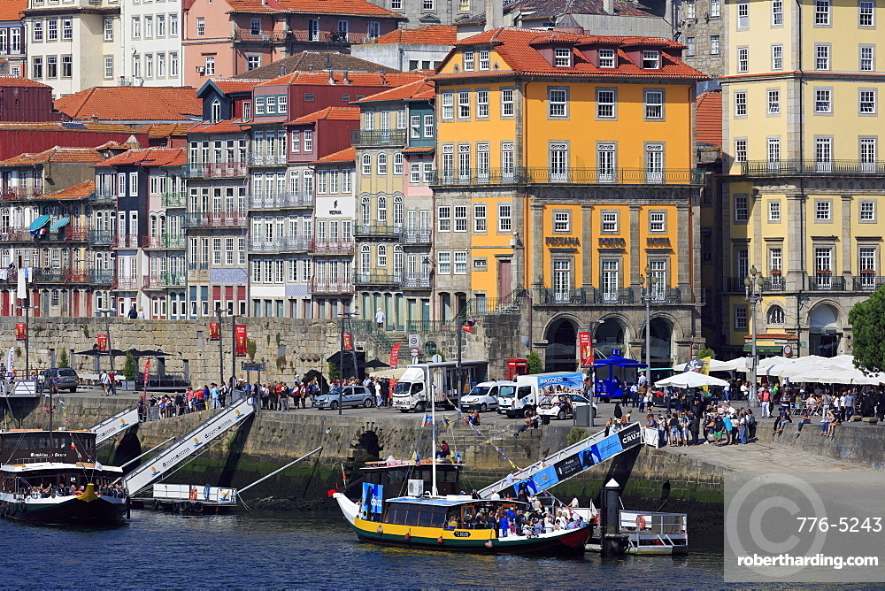 Ribeira District, UNESCO World Heritage Site, Porto City, Portugal, Europe
