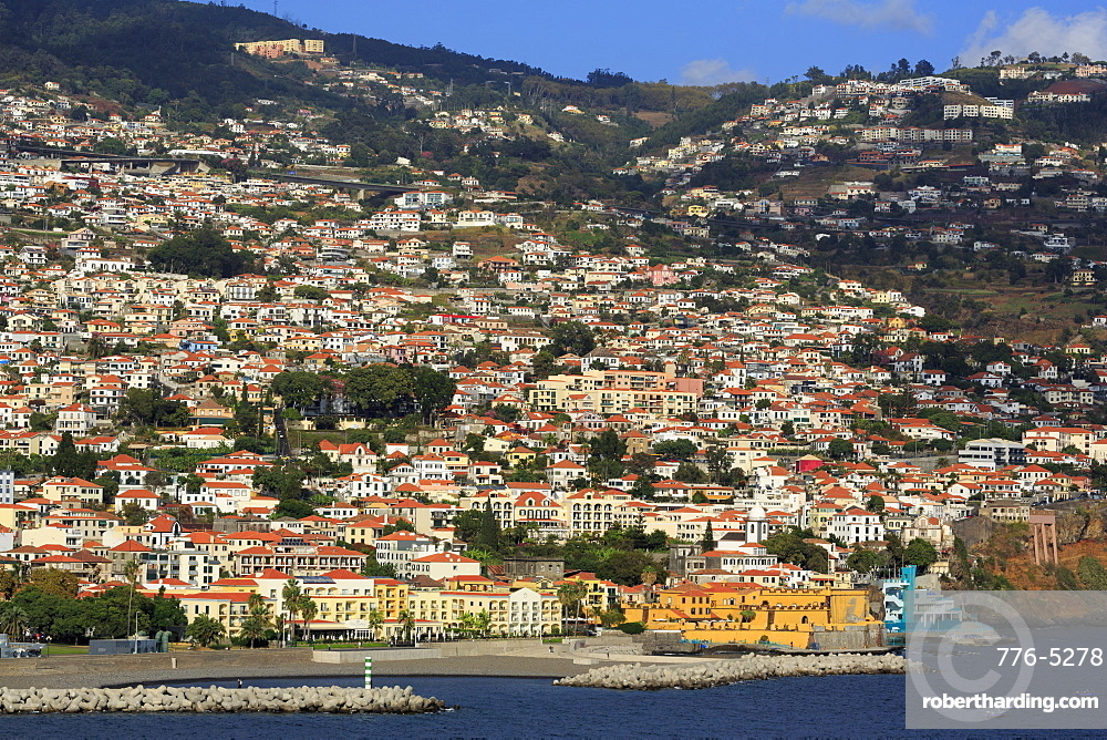 Sao Tiago Fort, unchal City, Madeira Island, Portugal, Atlantic, Europe