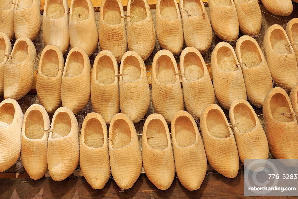 Wooden Shoe Factory, Marken Island, North Holland, Netherlands, Europe
