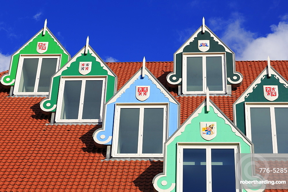 Railway Station & Town Hall, Zaandam, Holland, Netherlands, Europe