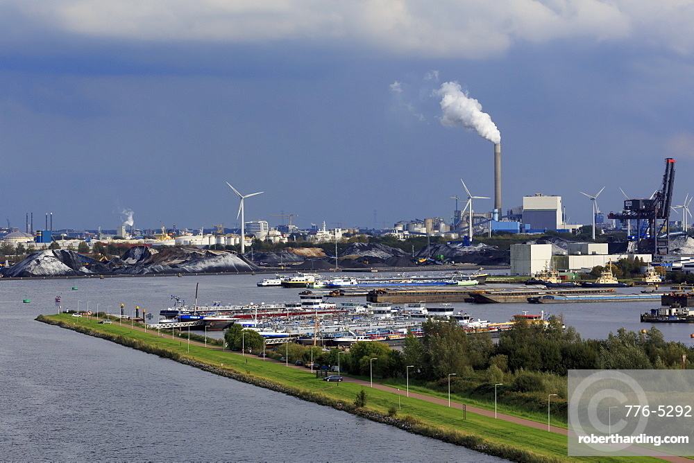 North Sea Canal, Zaandam, North Holland, Netherlands, Europe