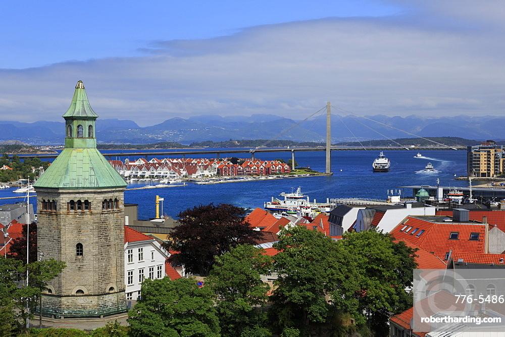 Valberg Tower, Stavanger City, Rogaland County, Norway, Scandinavia, Europe