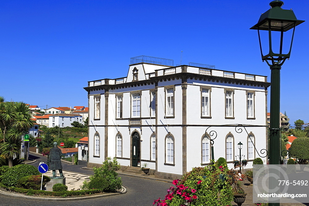 Nordeste Town Hall, Sao Miguel Island, Azores, Portugal, Atlantic, Europe
