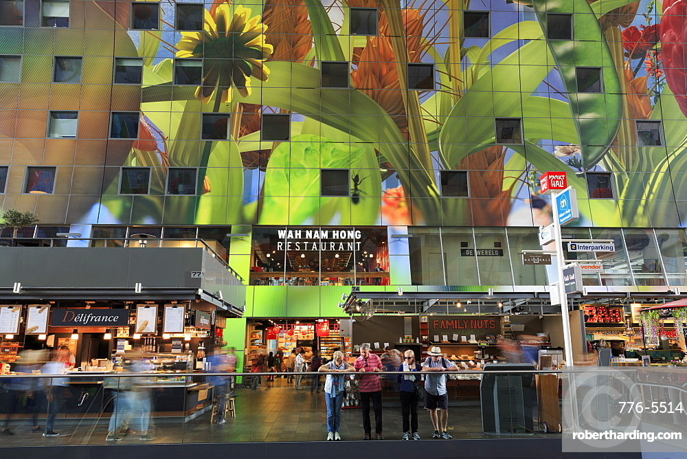 Market Hall, Rotterdam, Netherlands, Europe