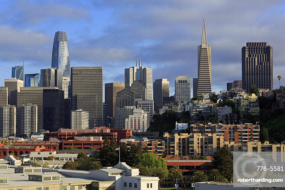 Skyline, San Francisco, California, USA