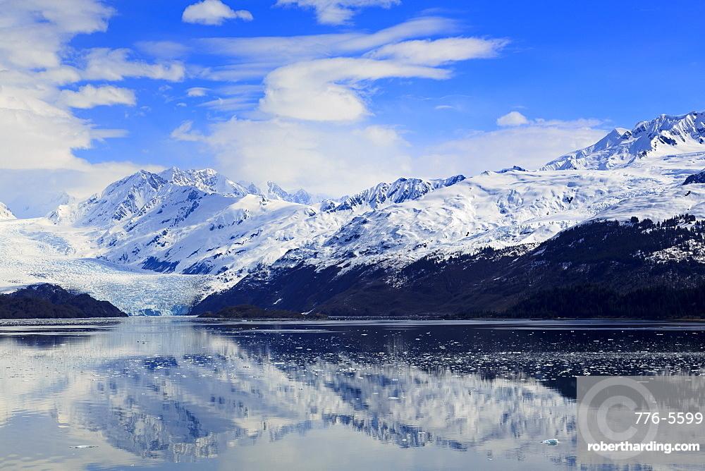 Harvard Glacier in College Fjord, Southeast Alaska, United States of America, North America