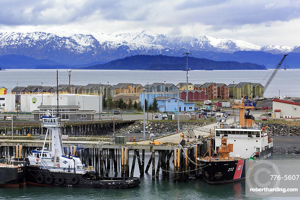 Coast Guard Station, Homer Spit, Alaska, United States of America, North America
