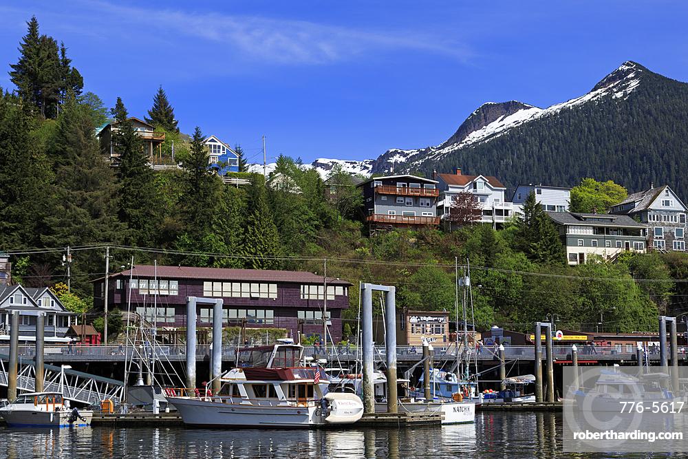 Casey Moran Boat Harbor, Ketchikan, Alaska, United States of America, North America