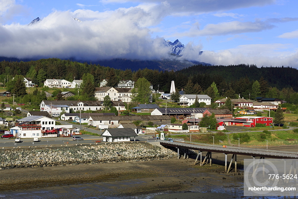 Port Chilkoot Dock, Haines, Lynn Canal, Alaska, United States of America, North America