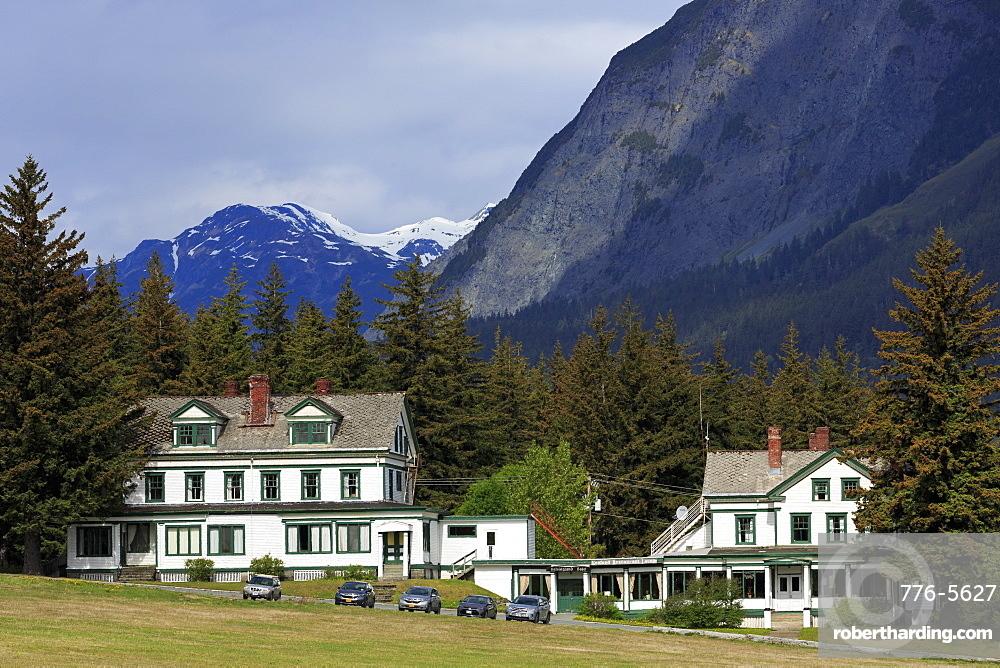 Fort Seward, Haines, Lynn Canal, Alaska, United States of America, North America