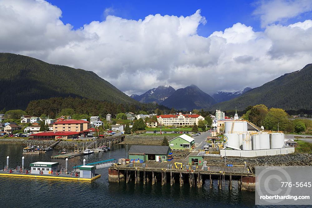 Marine Fuel Depot, Sitka Harbor, Sitka, Alaska, United States of America, North America