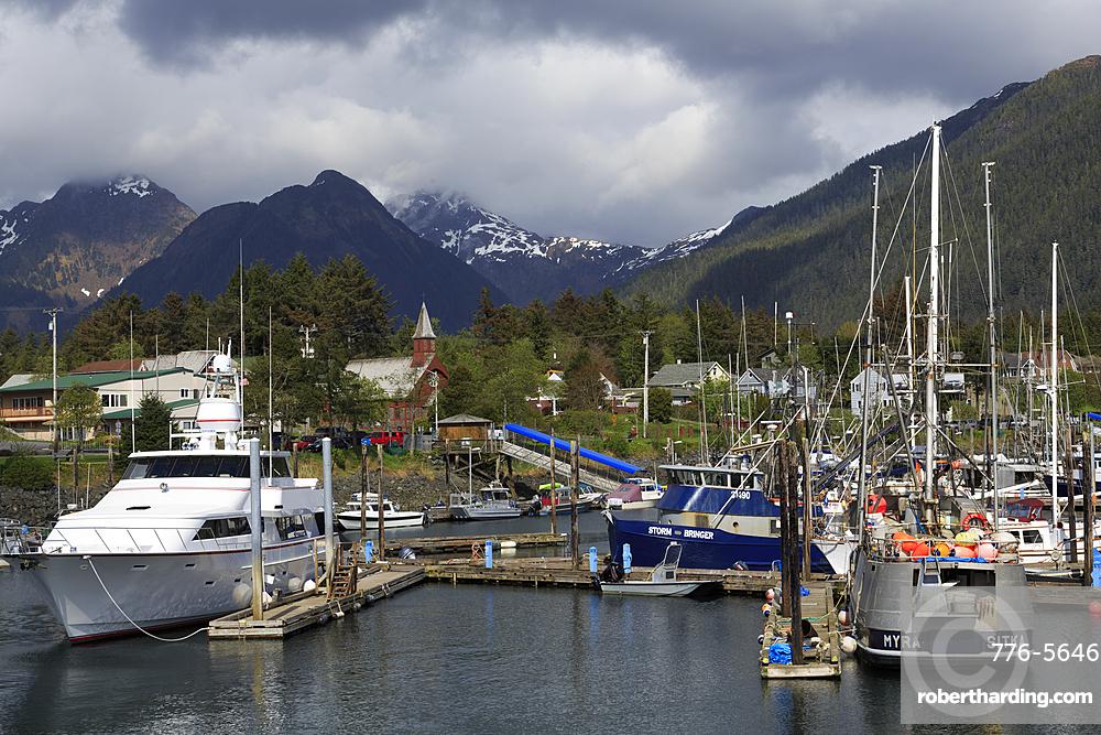 Small Boat Marina, Sitka, Alaska, USA