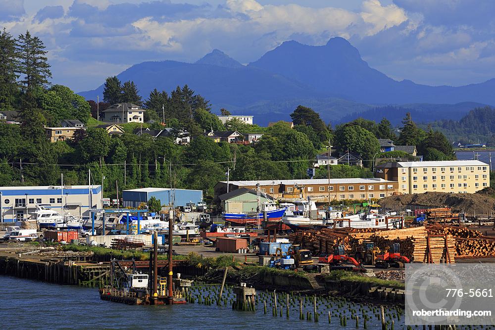 Pier 3, Port of Astoria, Oregon, United States of America, North America