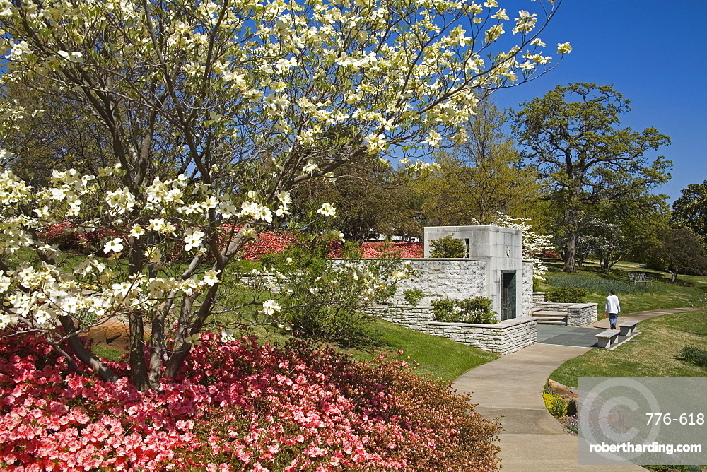 Gilcrease Museum Gardens, Tulsa, Oklahoma, United States of America, North America