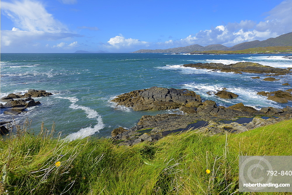Ballydonegan Bay, Ring of Beara, Beara Peninsular, Wild Atlantic Way, County Cork, Munster, Republic of Ireland, Europe