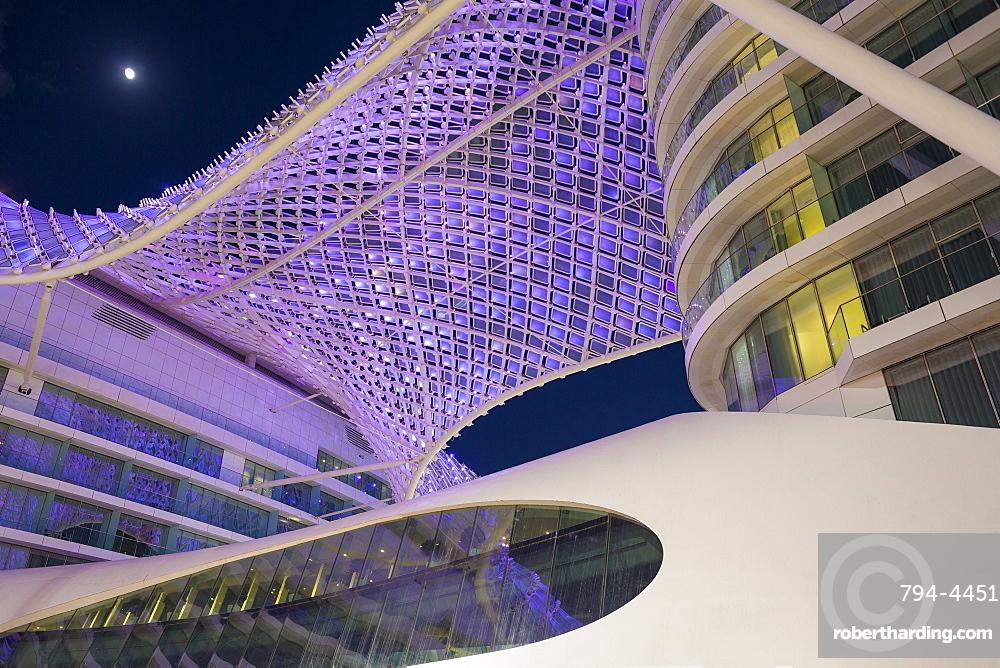 Yas Marina Hotel, Yas Island, Abu Dhabi, United Arab Emirates, Middle East