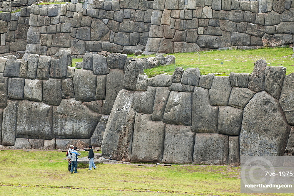 Sacsayhuaman, former capital of the Inca Empire, UNESCO World Heritage Site, Cuzco, Peru, South America