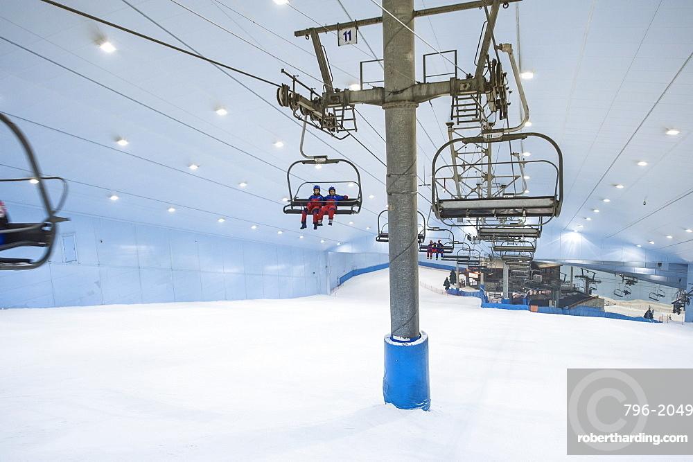 Ski Dubai Mall Of The Stock Photo