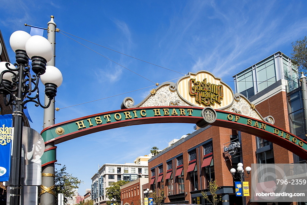 Gaslamp Quarter, San Diego, California, United States of America, North America