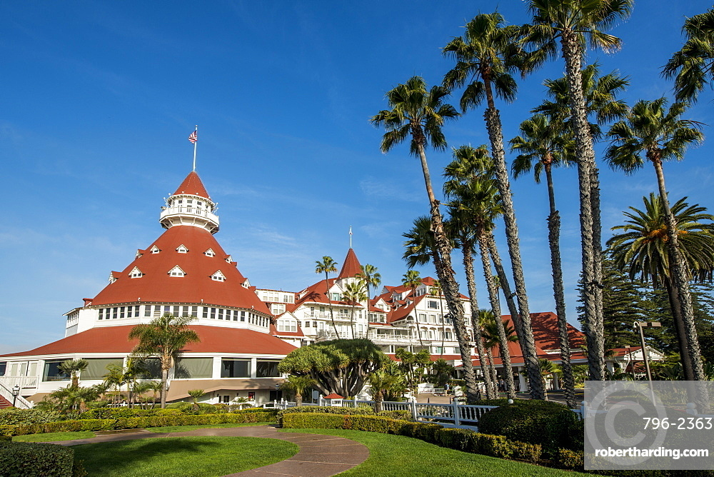 Hotel Del Coronado California Historical Landmark No. 844, San Diego, California, United States of America, North America