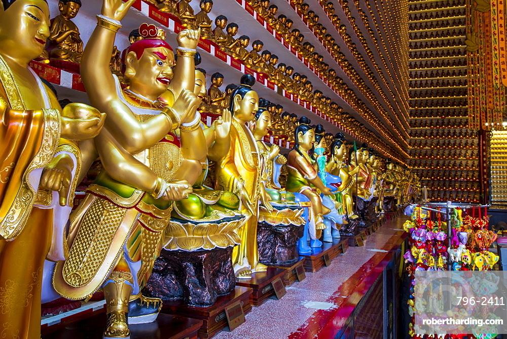 Ten Thousand Buddhas Monastery, Sha Tin, Hong Kong, China, Asia