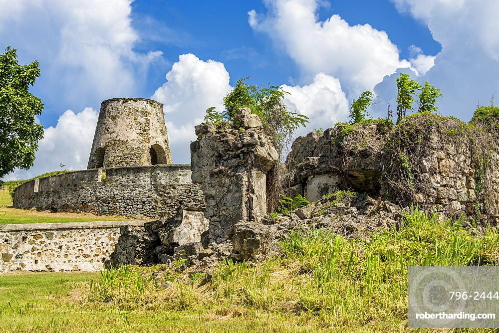 Ruins of Rust Op Twist Sugar Mill Plantation, St. Croix, US Virgin Islands, Caribbean