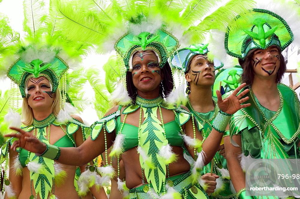 Caribbean carnival festival, Montreal, Quebec, Canada, North America
