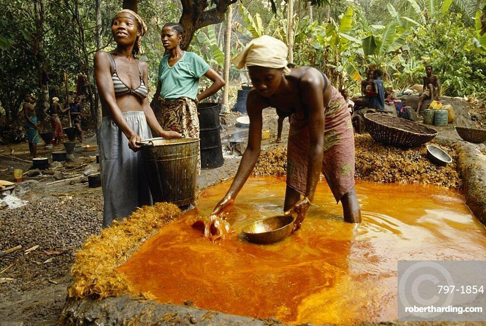 Sierra Leone The Mende Stock Photo