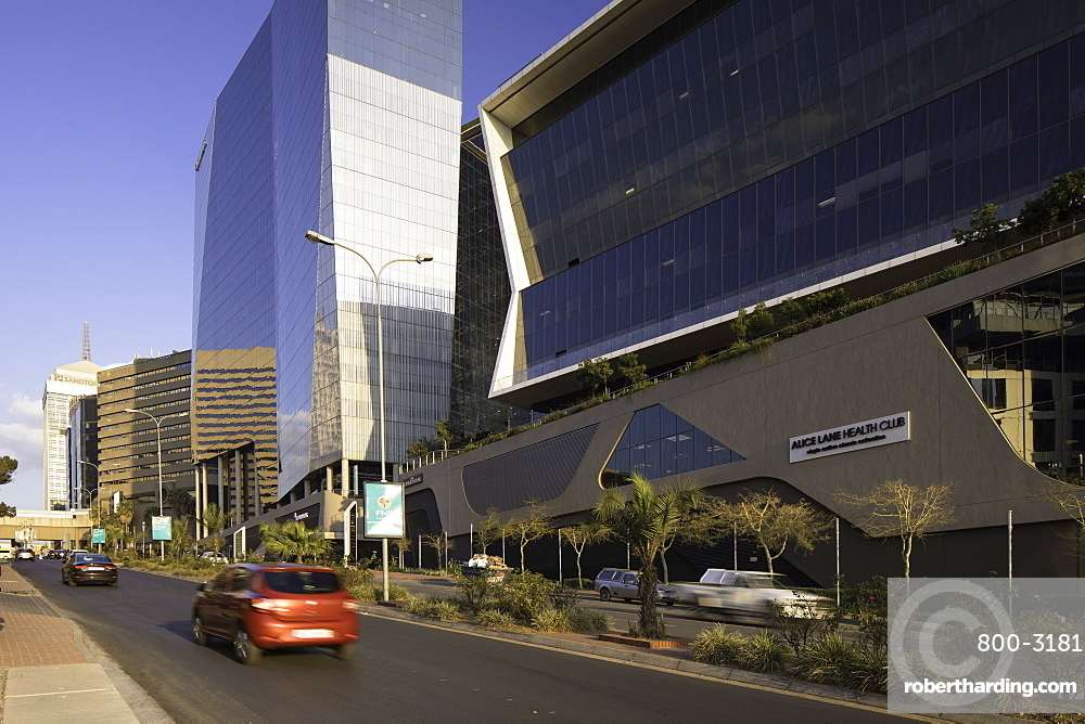 Bowman Gilfillan and Marsh buildings in Alice Lane Complex, Sandton, Johannesburg, Gauteng, South Africa
