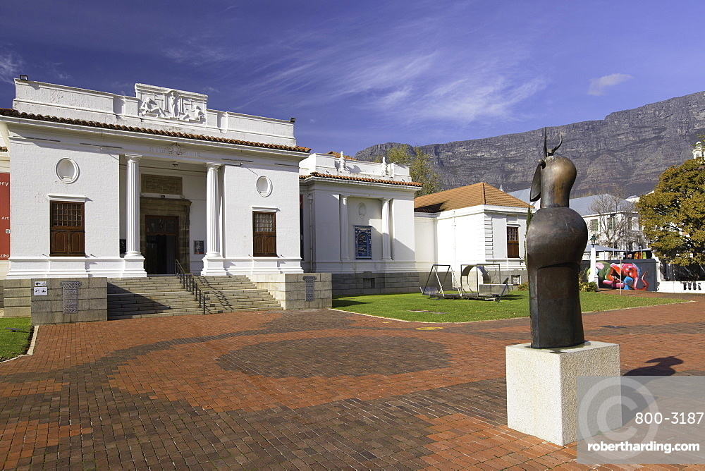 South African National Gallery, Company's Garden, Cape Town, Western Cape, South Africa, Africa