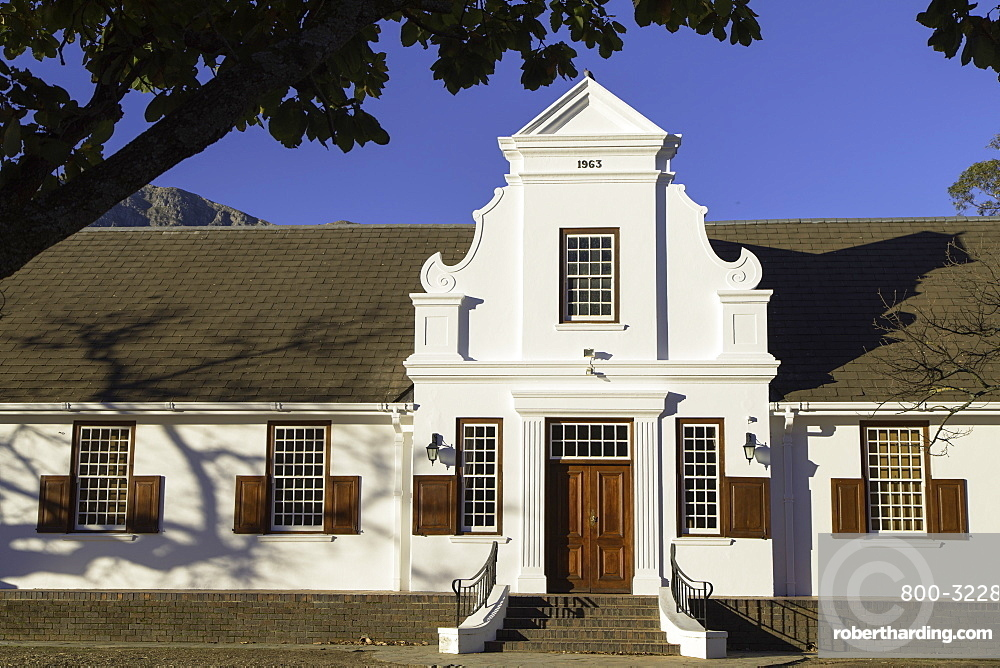 NGK Hall, Franschhoek, Western Cape, South Africa