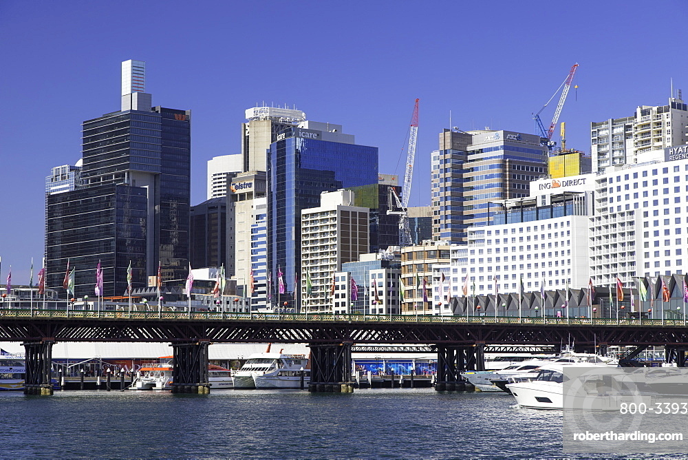 Barangaroo and Darling Harbour, Sydney, New South Wales, Australia, Pacific