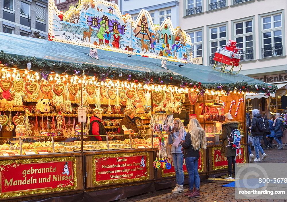 Frankfurt Christmas Market, Frankfurt am Main, Hesse, Germany