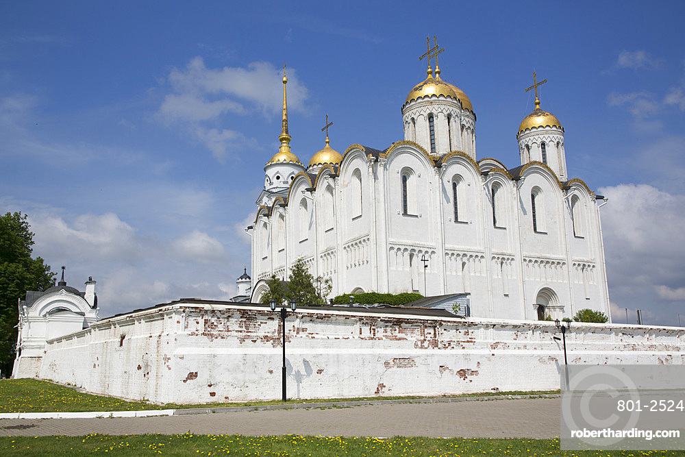 Assumption Cathedral, UNESCO World Heritage Site, Vladimir, Russia, Europe