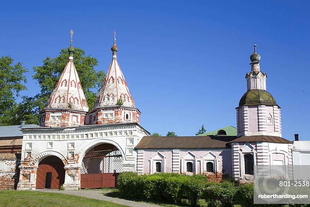 Disposition of the Robe (Rizopolozhensky) Convent, UNESCO World Heritage Site, Suzdal, Vladimir Oblast, Russia, Europe
