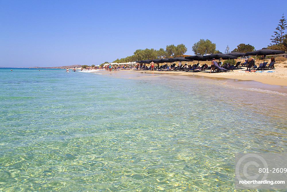 Plaka Beach, Naxos Island, Cyclades Group, Greek Islands, Greece, Europe