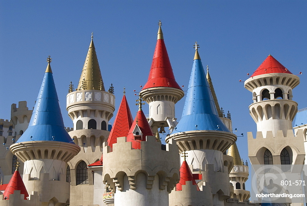 Excalibur Hotel, Las Vegas, Nevada, United States of America, North America