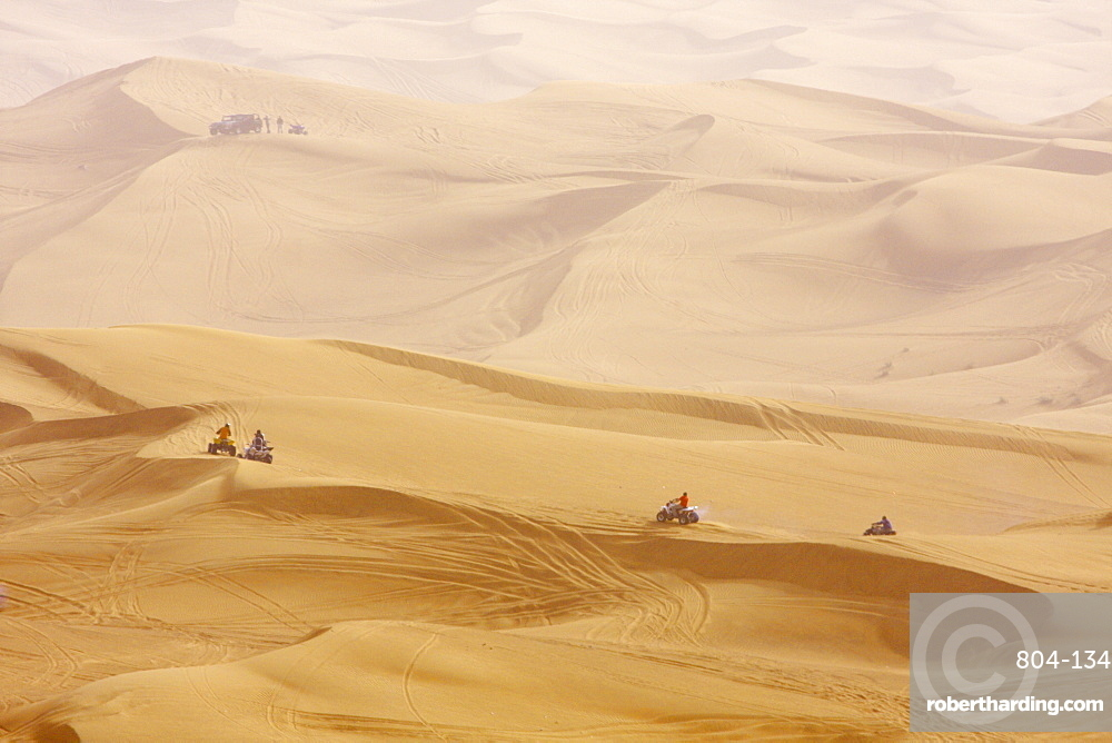 Desert safari, Dubai, United Arab Emirates, Middle East