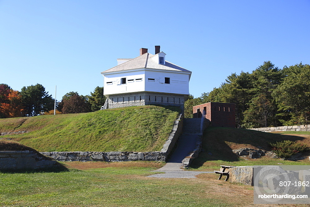 Fort McClary State Historic Site, Kittery, Kittery Point, Maine, New England, United States of America, North America
