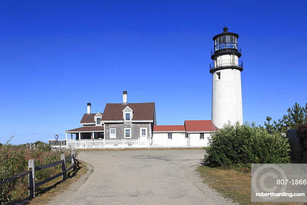 Cape Cod Highland Lighthouse, Highland Light, Cape Cod, North Truro, Massachusetts, New England, United States of America, North America