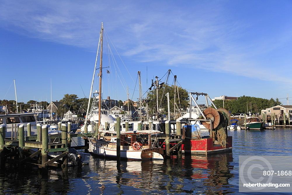 Harbor, Marina, Hyannis, Cape Cod, Massachusetts, New England, United States of America, North America