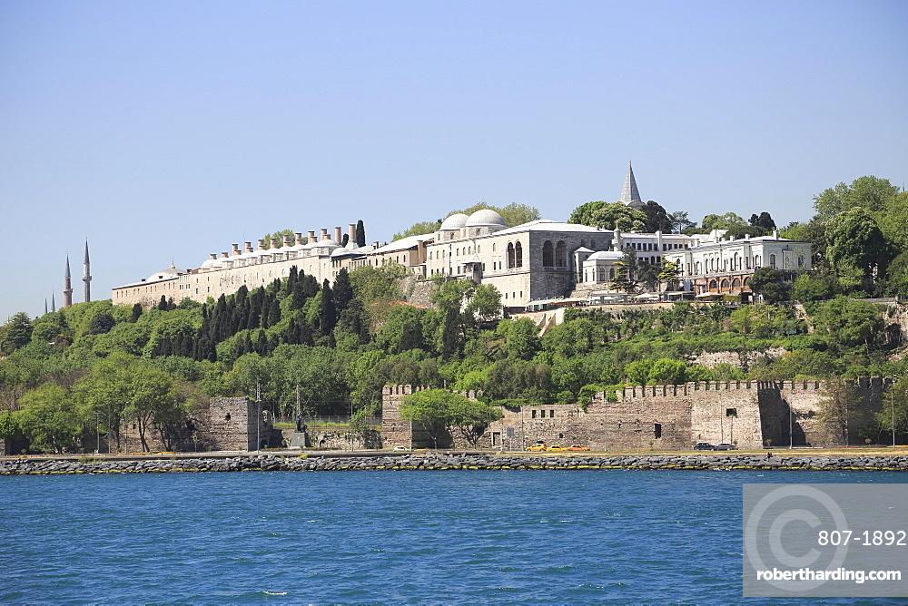 Topkapi Palace, UNESCO World Heritage Site, Istanbul, Turkey, Europe