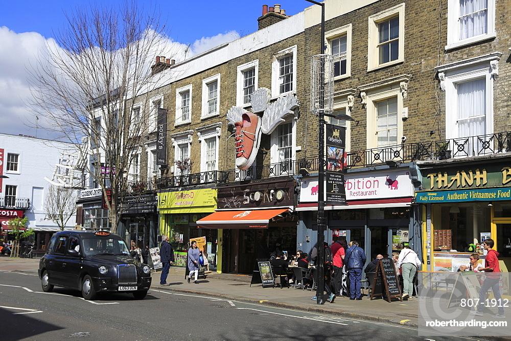 Camden High Street, Camden, London, England, United Kingdom