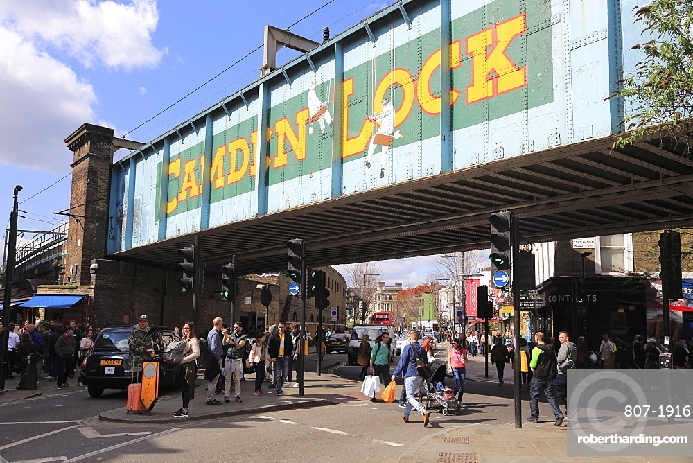 Camden Lock, High Street, Camden, London, England, United Kingdom, Europe