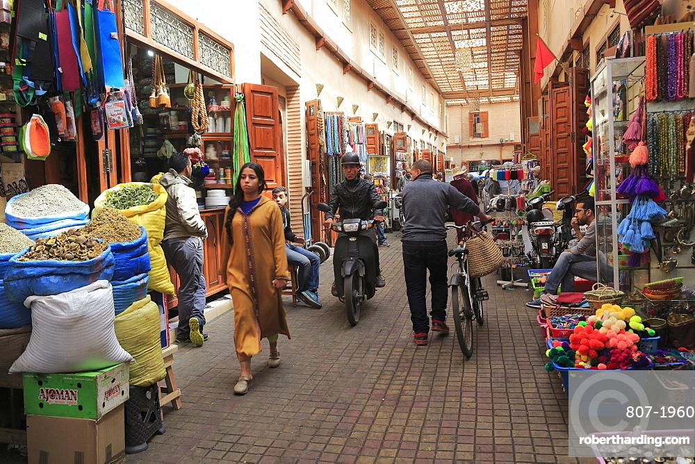 Market, Souk, Mellah, Old Jewish Quarter, Marrakesh, Marrakech, Morocco, North Africa