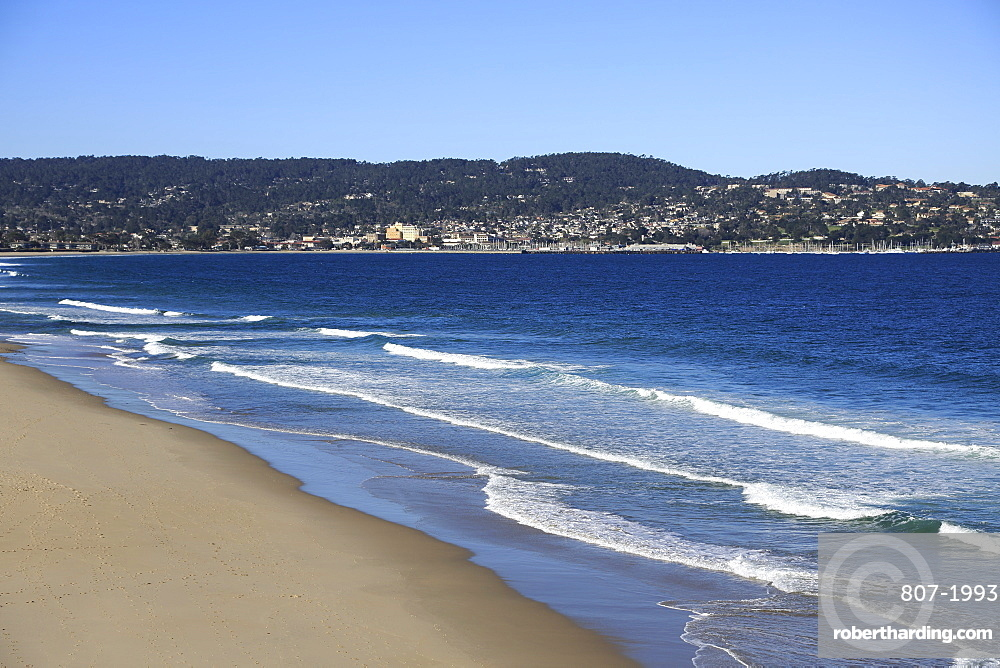 Beach, Monterey Bay, Peninsula, Monterey, Pacific Ocean, California, United States of America, North America