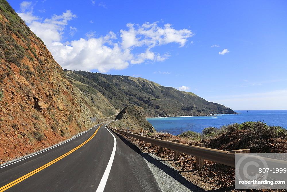 Big Sur Coastline, Route 1, Highway 1, Pacific Coast Highway, Pacific Ocean, California, United States of America, North America