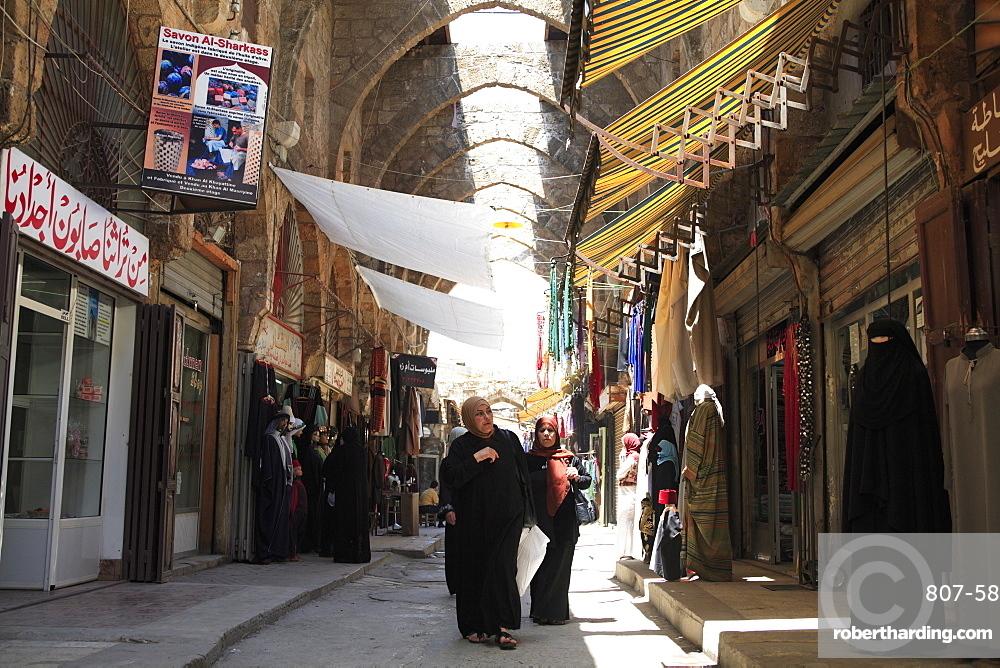 Tailors Market, Tripoli, Lebanon, Middle East